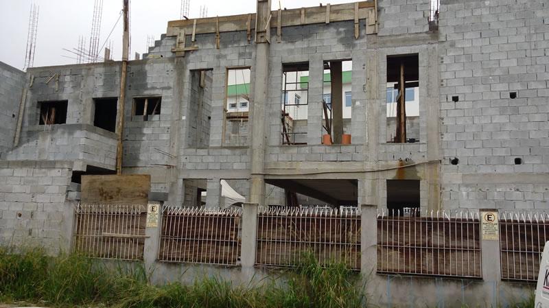 Foto da obra Igreja Santa Rita – Rua Ipiranga – Mogi das Cruzes 2