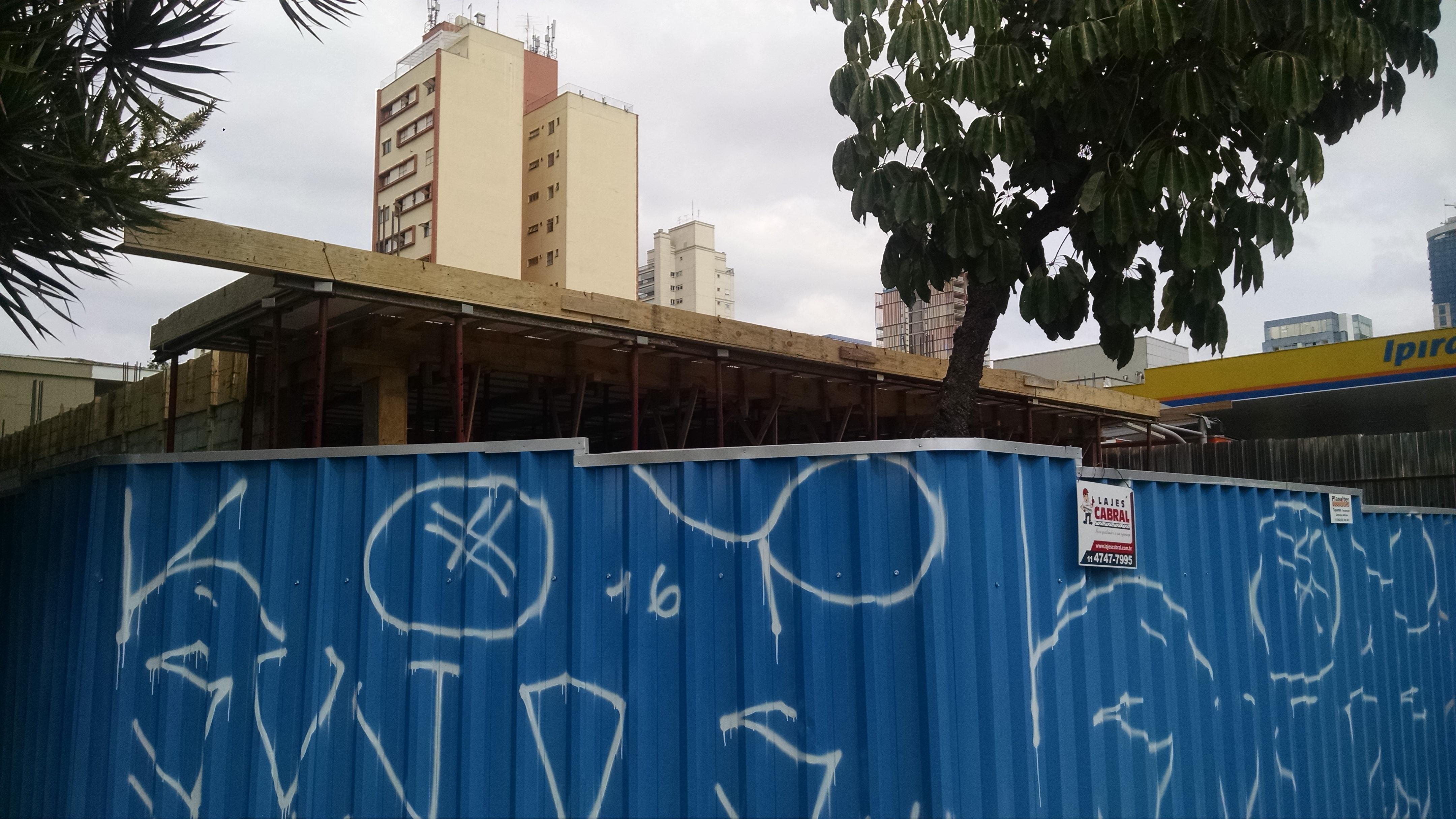 Foto da obra MOVIDA LOCADORA – Av Juscelino kubitschek – Sao Paulo 1